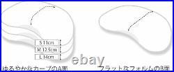 TEMPUR Sonata Pillow L Large Size White Crescent Ergonomic Design Limited Japan