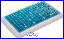 Technogel Deluxe Thin Gel Memory Foam Pillow
