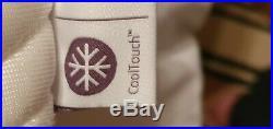 Tempur Cooltouch Cloud Elite King Size Mattress+protector+tempur Pillow