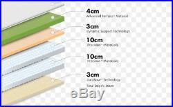 Tempur Hybrid Luxe 30cm Kingsize Mattress 150cm X 200cm Free Cloud Pillow