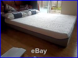 Tempur Malmo Soft Touch 27cm Kingsize Mattress 150cm X 200cm Free Cloud Pillows