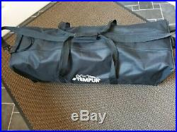 Tempur Memory Foam Travel Mattress and Travel Pillow Set With Trolley Bag