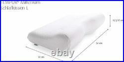 Tempur Millennium Neck pillow Hard L(54cmX32cmX12.5cm) size memory foam