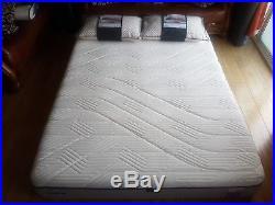 Tempur Oslo Soft Touch 27cm Kingsize Mattress 150cm X 200cm Free Cloud Pillows
