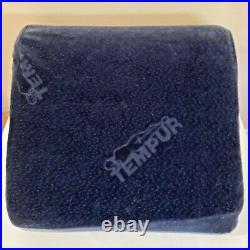 Tempur-Pedic Bed Pillow Wedge Navy Blue Memory foam