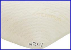 Tempur-Pedic Foam Body Pillow Memory Foam Removable Cover Linen Pillows White