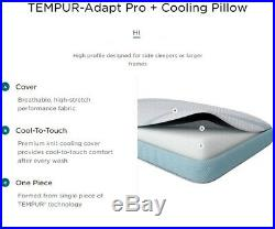 Tempur-Pedic TEMPUR-Adapt King Pro Hi Cooling Pillow White ProHi