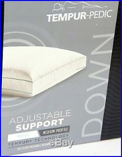 Tempur-Pedic TEMPUR-Down Adjustable Support Queen Pillow 15306321 25x17