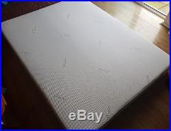 Tempur Sensation 22cm Kingsize Mattress 200cm X 150cm (free Pillow)