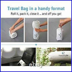 The ANDAR Travel Neck Pillow Crescent-Shaped Memory Foam Orthopaedic Materia
