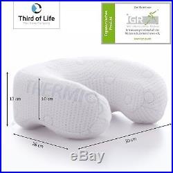 The ANDAR Travel neck pillow Crescent-shaped memory foam Orthopaedic materia