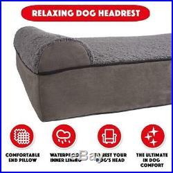 The Dogs Bed, Premium Plush Orthopedic Waterproof Memory Foam Dog Eases Pet