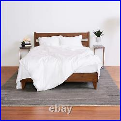 The Lull King Grey Bedding Bundle Memory Foam Mattress, 2 Pillows, Sheet Set