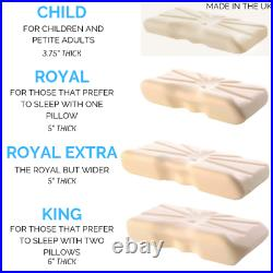 The Putnam Pillow Orthopedic Pillow Recommended by the NHS British Made