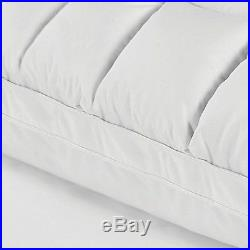 Therapedic Lux Hybrid Gel Memory Oversized Foam Pillow in White