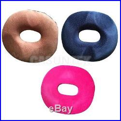 Thicken Ring Donut Memory Foam Seat Car Chair Cushion Back Support Pillow 3Color