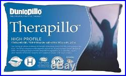 Tontine-Dunlopillo Therapillo Cooling Gel Top High Profile Memory Foam Pillow