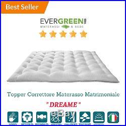 Evergreen Materassi.Topper Correttore Materasso In Memory Foam Med Coprimaterasso H