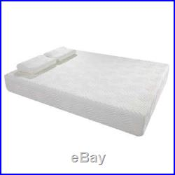 Traditional Firm 10-inch Queen-size Memory foam Mattress with 2 Pillows