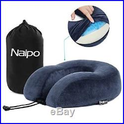 Travel Neck Pillow Memory Foam Cushion Soft U Shape Support Headrest New Design