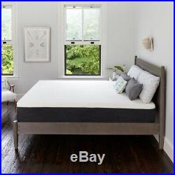 Twin Mattress 12 in. Gel Memory Foam Pillow Top Hypoallergenic Bedroom Furniture