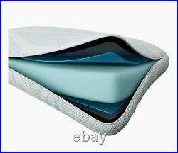 (Two) Tempur-Pedic TEMPUR-Breeze Cooling ProHi Memory Foam King Pillows, White
