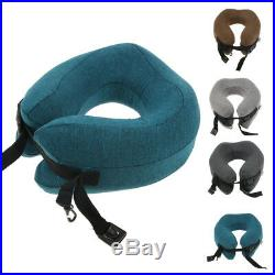 U Shaped Memory Foam Travel Neck Head Pillow Support Cushion Washable Cover