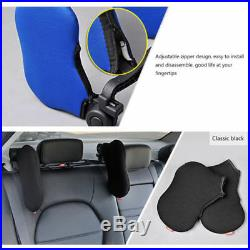 Univeral Car Seat Headrest Pad Memory Foam Pillow Head Neck Rest Support Cushion