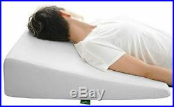 VISCO Wedge Pillow for Acid Reflux Memory Foam Medical Support