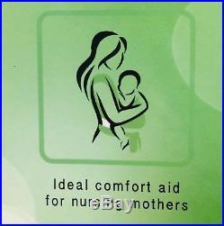 V Shape BAMBOO MEMORY FOAM Pillow Back Neck-Nursing Support-Orthopedic-Pregnancy