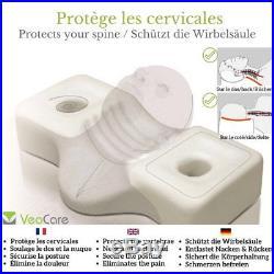 VeoCare ERGONOMIC CERVICAL PILLOW WITH C-COMFORT MEMORY FOAM â Very high foam