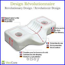 VeoCare ERGONOMIC CERVICAL PILLOW WITH C-COMFORT MEMORY FOAM â Very high foam