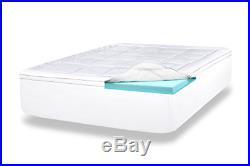 ViscoSoft 4 Inch Pillow Top Gel Memory Foam Mattress Topper Twin XL Serene Pad