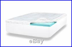 Viscosoft 4 Inch Pillow Top Gel Memory Foam Mattress Topper King Bed Topper