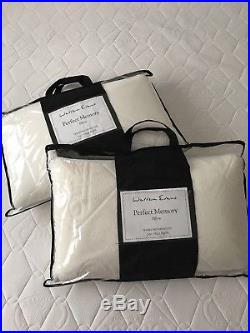 Warren Evans Memory Foam Kingsize Mattress Rp £350 plus 2x memory foam pillows