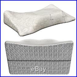 ZAMULO Orthopedic Memory Foam Cervical 4D Contour Pillow for Neck and Shoulder