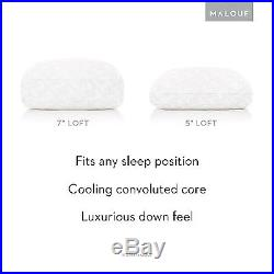 Z Convolution Pillow Gel-Infused Dough Memory Foam Core With Gelled Microfi