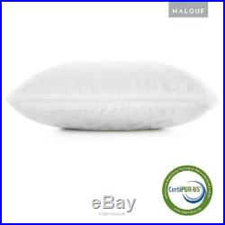 Z Side Sleeper Shoulder Cutout Gel DOUGH Memory Foam Pillow with Liquid