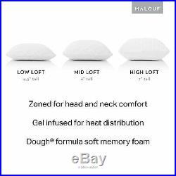 Z Zoned Dough Gel Memory Foam Pillow