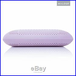 Z zoned dough memory foam pillow infused with real lavender natural lavender
